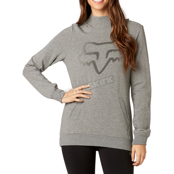 Fox Women's Heather Graphite Certain Pullover Hoody - 19642-185-XL