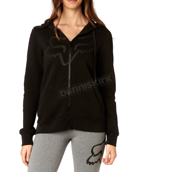 Fox Women's Black Certain Zip Hoody - 19648-001-XS