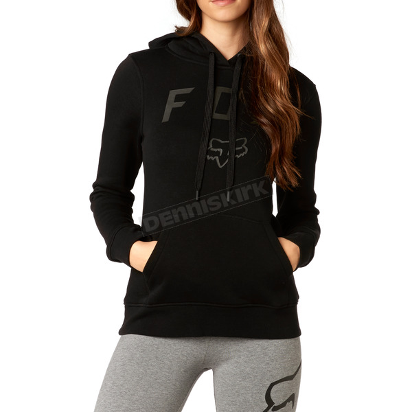 Fox Women's Black District Pullover Hoody - 19640-001-M