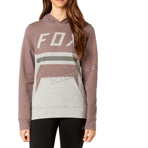 Fox Women's Dark Red Pasque Pullover Hoody - 19644-208-S
