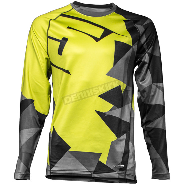 509 Lime FZN LVL 1 Base Layer Shirt - 509-BS1-FZLI-XL