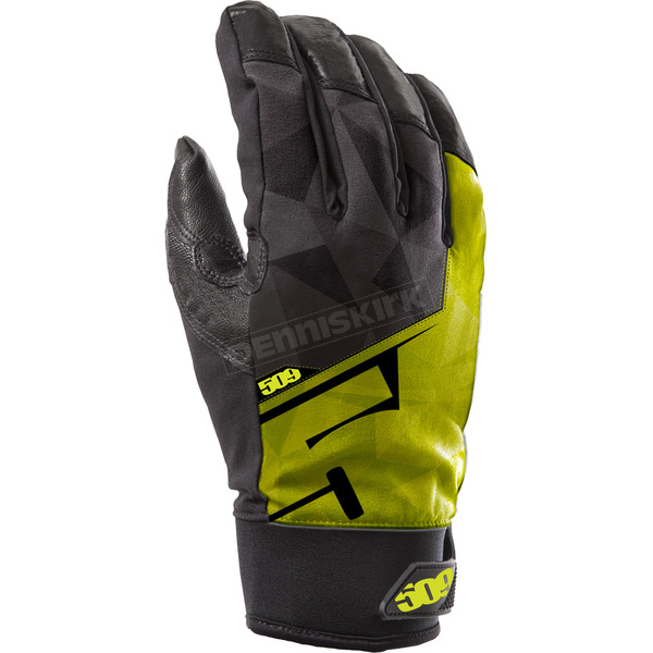 509 Lime Freeride Gloves - 509-GLOFRL-18-MD