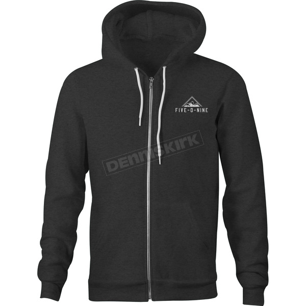 509 Black Five-O-Nine Zip Hoody - 509-CLO-FZ8-2X