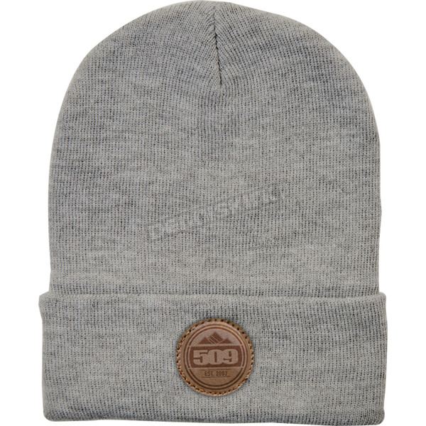 509 Charcoal Marker Knit Beanie - 509-HAT-MKB