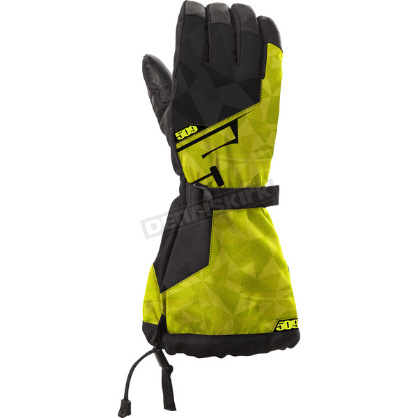 509 Lime Backcountry Gloves - 509-GLOBAL-18-XL