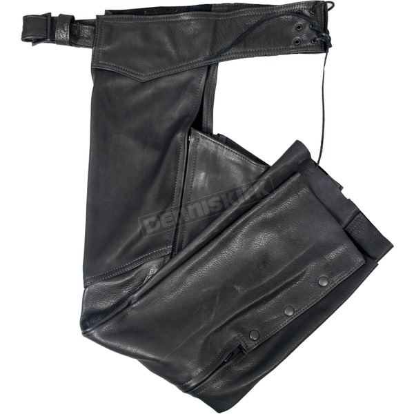 Hot Leathers Womens USA Made Leather Chaps - CHL5001XL
