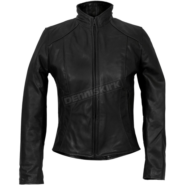 Hot Leathers Womens USA Made Clean Cut Leather Jacket - JKL5003XXL