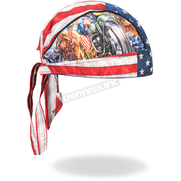 Hot Leathers Uncle Sam Headwrap - HWH1091