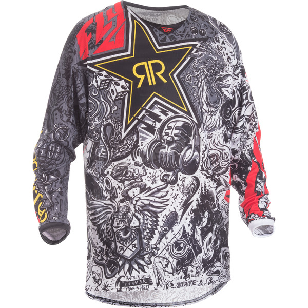 Fly Racing Rockstar Kinetic Mesh Jersey - 371-329S
