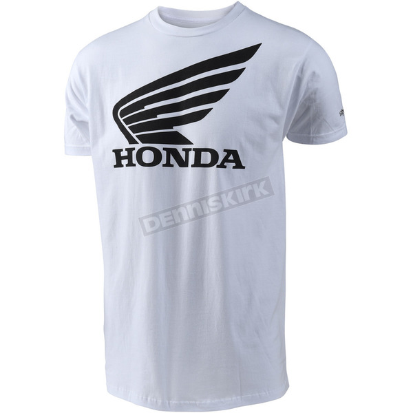 Troy Lee Designs White Honda Wing T-Shirt - 701416122