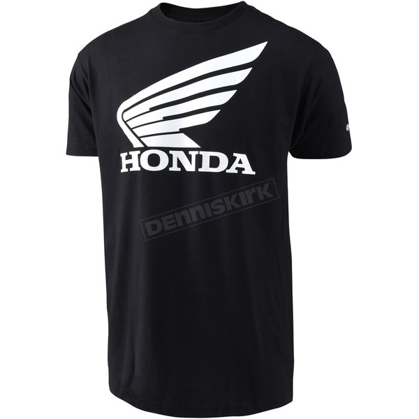 Troy Lee Designs Black Honda Wing T-Shirt - 701416213