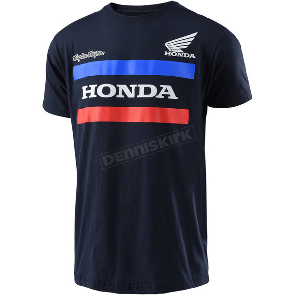Troy Lee Designs Navy Honda T-Shirt - 701517342