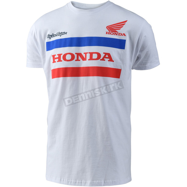 Troy Lee Designs White Honda T-Shirt - 701517143