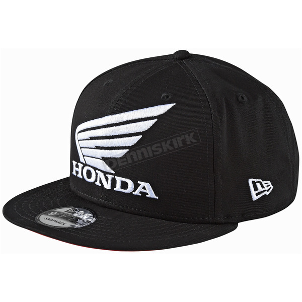 Troy Lee Designs Black Honda Snapback Hat - 712517210