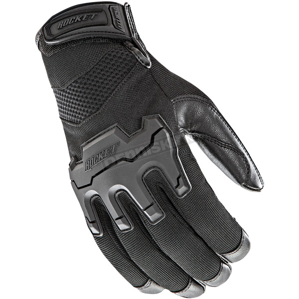 Joe Rocket Black Eclipse Gloves - 1722-2005
