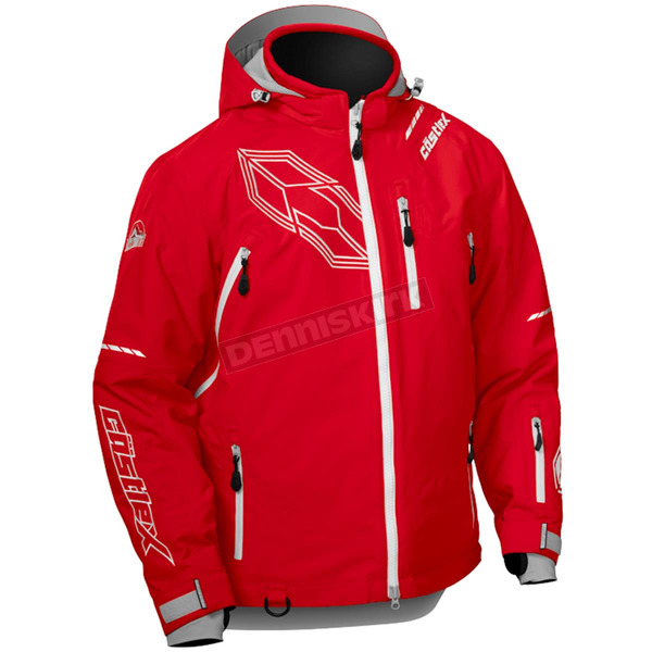 Castle X Red/White Stance Jacket - 70-6519