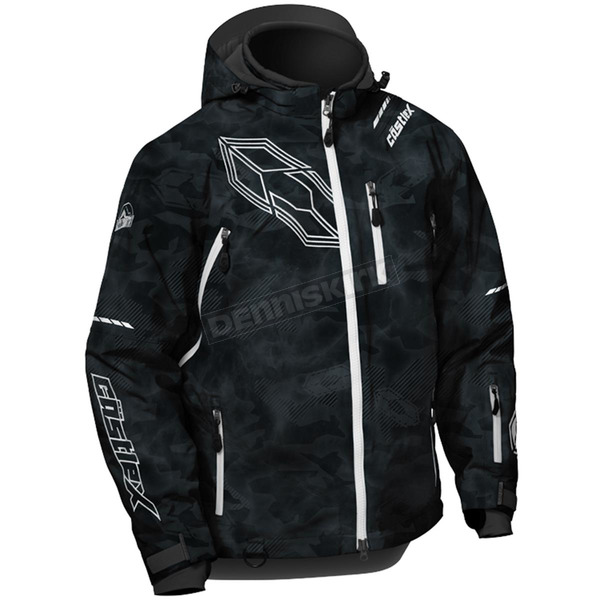 Castle X Alpha Black/White Stance Jacket - 70-6579