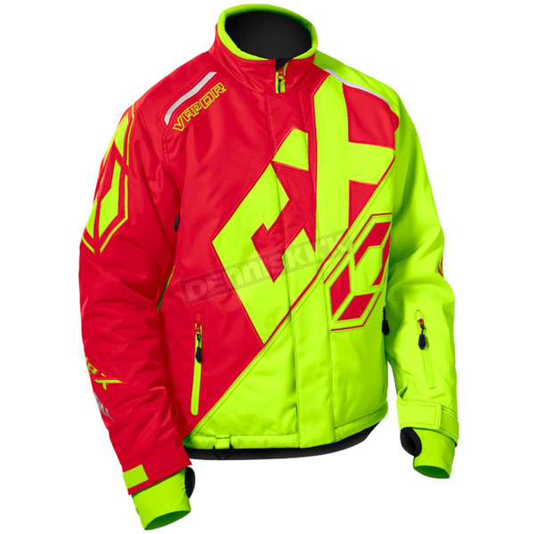 Castle X Red/Hi-Vis Vapor Jacket - 70-6719