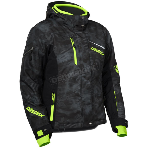 Castle X Women's Alpha Black/Hi-Vis  Powder Jacket - 71-1836