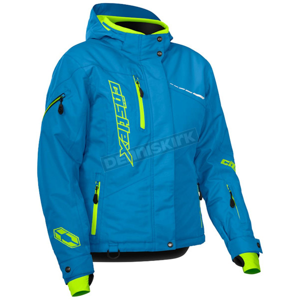 Castle X Women's Process Blue/Hi-Vis Powder Jacket - 71-1864