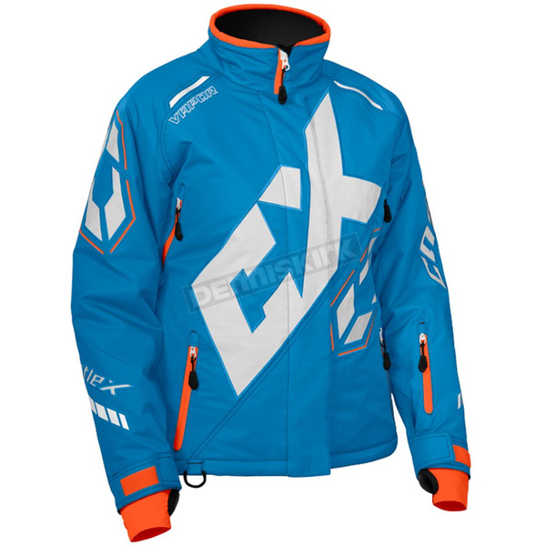 Castle X Women's Process Blue/White/Orange Vapor Jacket - 71-1922