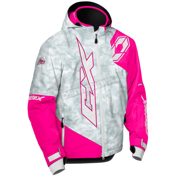 Castle X Youth Alpha Gray/Pink Glo Stance Jacket - 72-6304