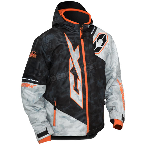 Castle X Youth Alpha Black/Orange Stance Jacket - 72-6351