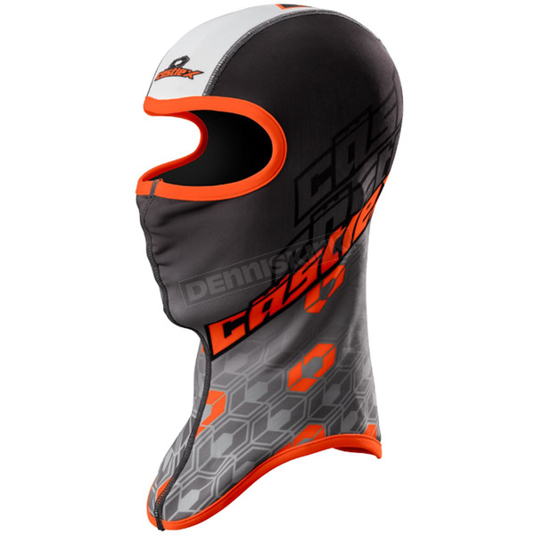 Castle X Black/Orange Team Sublimated Balaclava - 77-120C