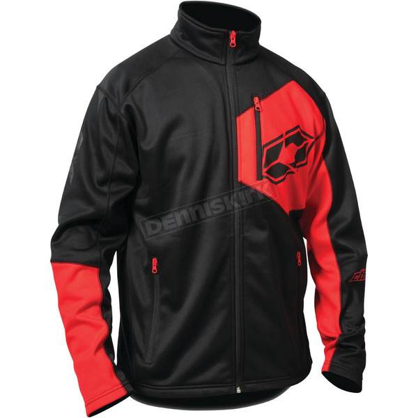 Castle X Black/Red Fusion G2 Mid-Layer Jacket - 78-1314