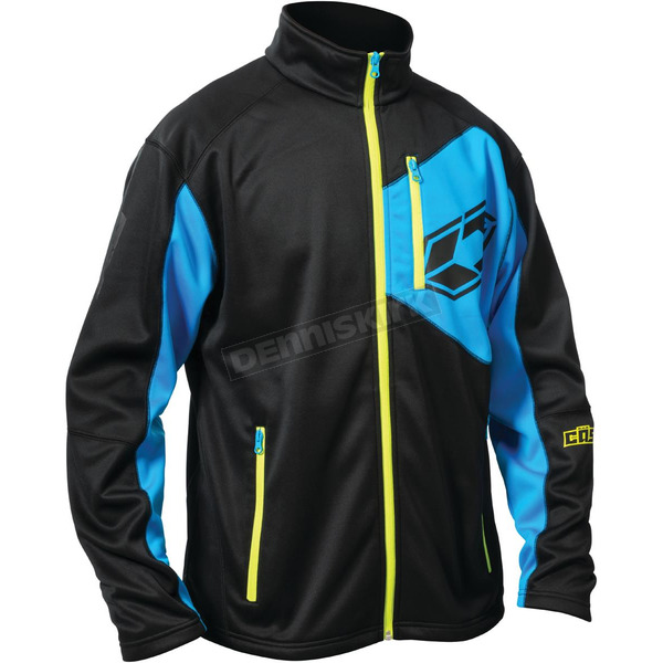 Castle X Black/Blue Fusion G2 Mid-Layer Jacket - 78-1324