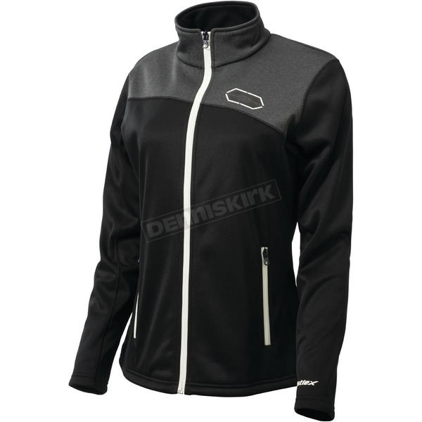 Castle X Women's Black/White Fusion G2 Mid-Layer Jacket - 78-2204