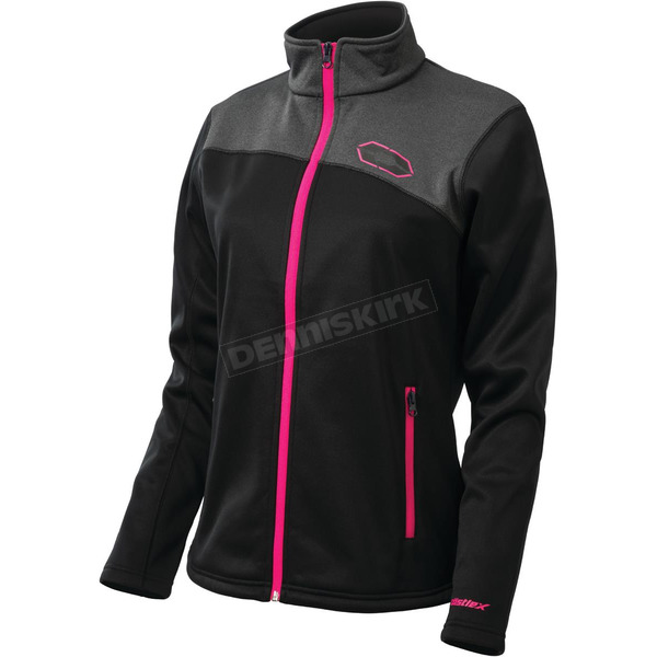 Castle X Women's Black/Magenta Fusion G2 Mid-Layer Jacket - 78-2286