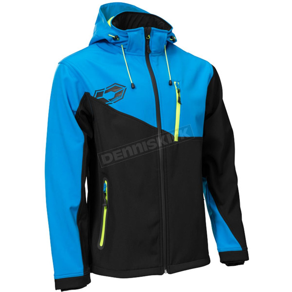 Castle X Black/Blue/Hi-Vis Barrier G2 Tri-Lam Jacket - 78-3028