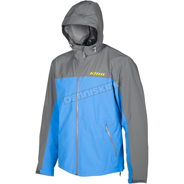 Klim Blue/Gray Stow Away Jacket - 3148-003-140-230