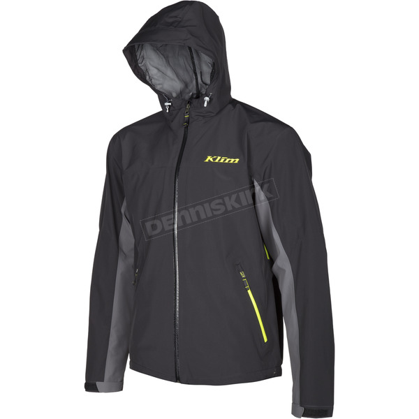 Klim Black/Gray Stow Away Jacket - 3148-003-140-060
