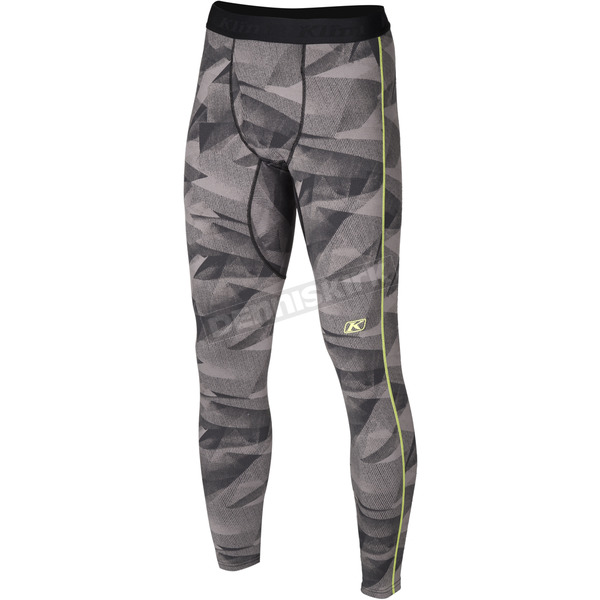 Klim Camo Gray Aggressor 2.0 Base Layer Pants - 3200-002-140-600