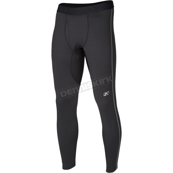 Klim Black Aggressor 2.0 Base Layer Pants - 3200-002-160-000