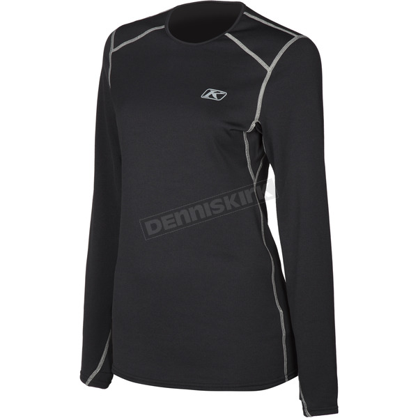 Klim Women's Black Solstice 2.0 Shirt  - 3201-002-110-000