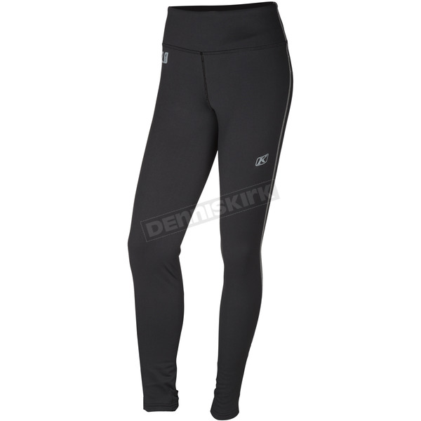 Klim Women's Black Solstice 2.0 Base Layer Pants - 3202-002-130-000