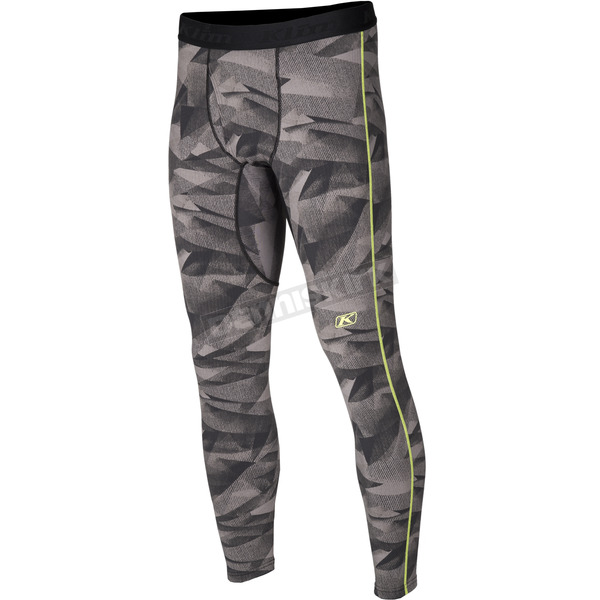 Klim Camo Gray Aggressor 3.0 Base Layer Pants - 3286-002-130-600