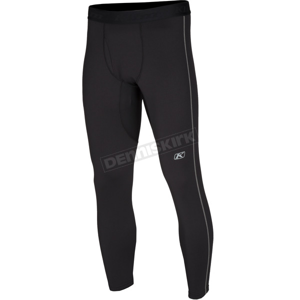 Klim Black Aggressor 3.0 Base Layer Pants - 3286-002-170-000