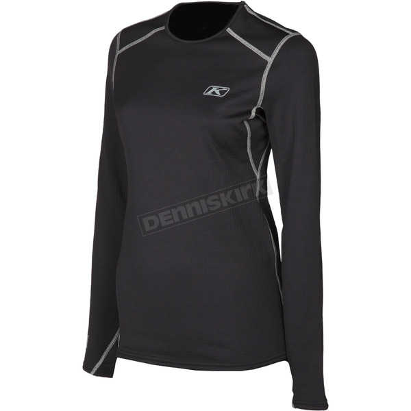Klim Women's Black Solstice 3.0 Shirt - 3287-002-110-000