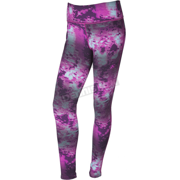 Klim Women's Purple Solstice 3.0 Base Layer Pants - 3288-002-150-790