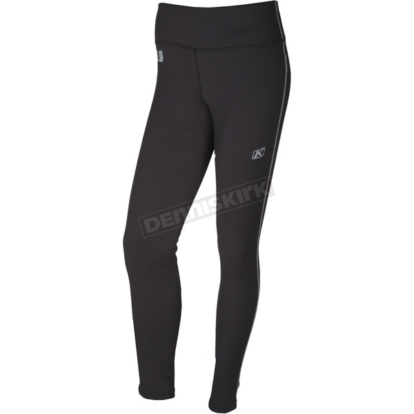 Klim Women's Black Solstice 3.0 Base Layer Pants - 3288-002-130-000