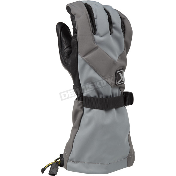 Klim Dark Gray Togwotee Gloves - 3337-004-140-660