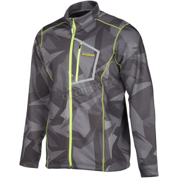 Klim Gray Camo Inferno Jacket - 3354-005-130-330