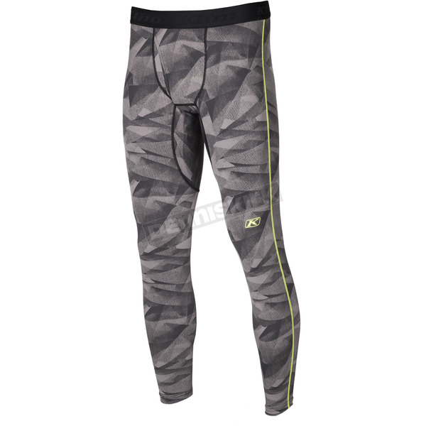 Klim Gray Camo Aggressor 1.0 Base Layer Pants - 3357-006-160-600