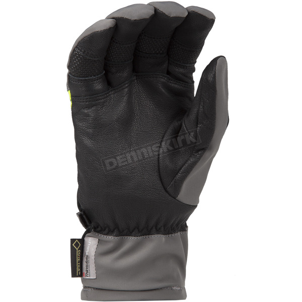 Klim Dark Gray/Hi-Vis PowerXcross Gloves - 3438-005-120-660