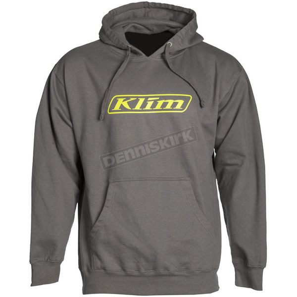 Klim Dark Gray Word Pullover Hoody - 3735-000-160-660