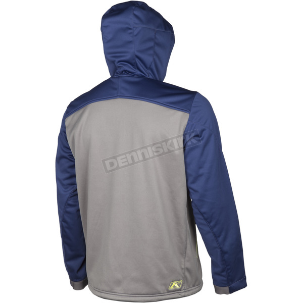 Klim Navy/Green Transition Hoody - 3785-000-170-210